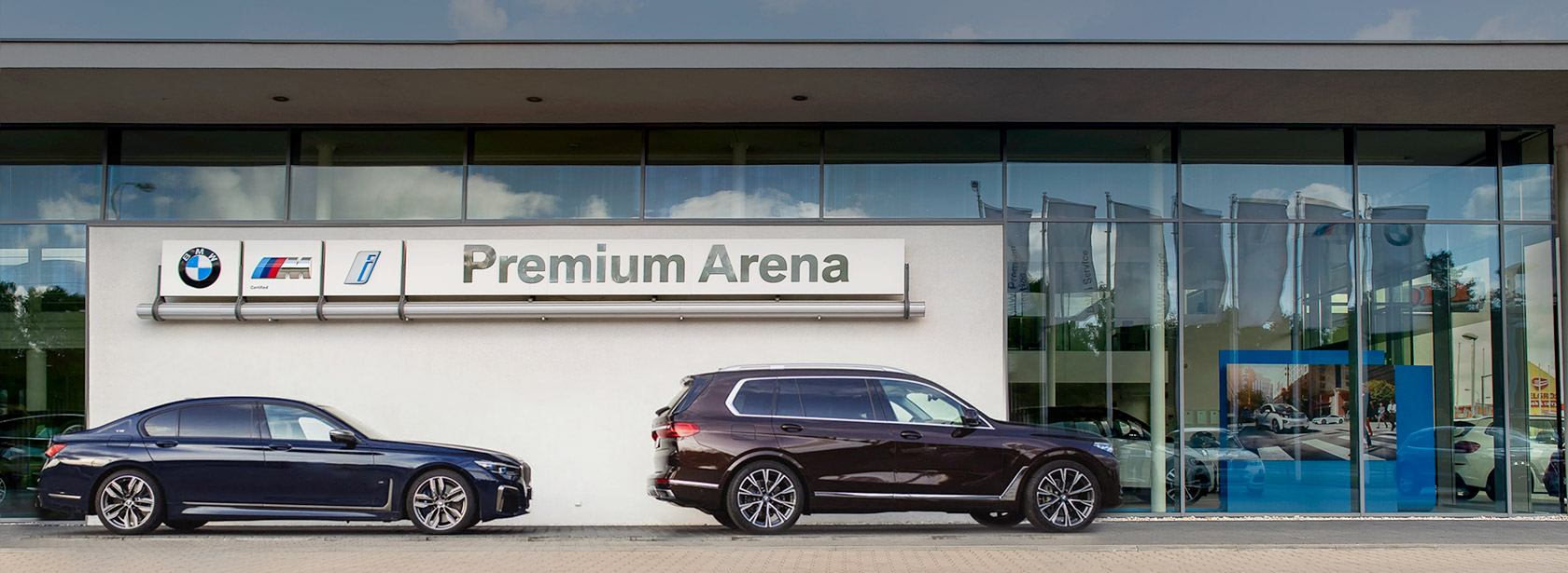 Salon Dealer BMW Premium Arena Łódź.